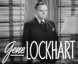 Gene Lockhart - in Bridal Suite (1939)