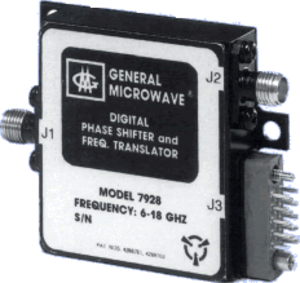 Phase shift module - A microwave (6 to 18 GHz) Phase Shifter and Frequency Translator