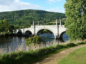 1733 in architecture - Image: General Wade's Bridge, Aberfeldy geograph.org.uk 1563111