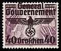 Generalgouvernement 1940 31 Aufdruck auf 349.jpg