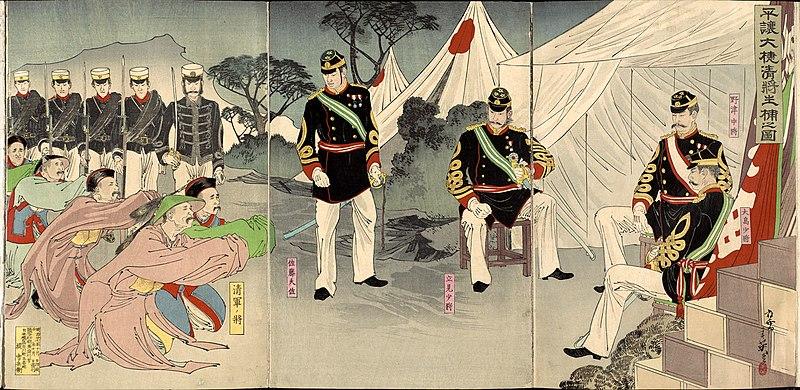 Generals Pyongyang MigitaToshihide October1894.jpg