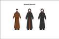 Generic habit of the Maronite monks.png