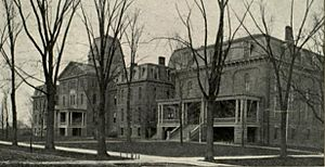 State University of New York at Geneseo - Wadsworth School, c. 1904.