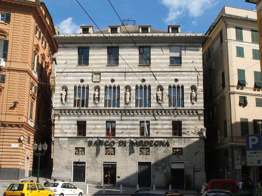 Palazzo di piazza Fontane Marose à Gênes - Photo de Twice25 & Rinina25