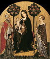 Gentile da Fabriano - Mary Enthroned with the Child, Saints and a Donor - Google Art Project.jpg