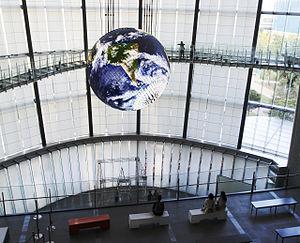 Miraikan - Image: Geo Cosmos Miraikan cropped