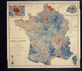 Geographical Distribution of the Population in France, or Population Density by Commune WDL3027.png