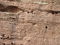 Geology in Tiermes (Soria, Spain) - Buntsandstein - cross-bedding 03.jpg