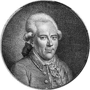 Portrait of Georg Christoph Lichtenberg