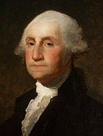 O primeiro Presidente dos Estados Unidos da Am�rica, George Washington.