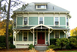 George A. Barker House - Image: George A Barker House Quincy MA 01