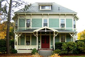 George A. Barker House - Image: George A Barker House Quincy MA 01