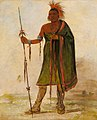 George Catlin - Wash-ím-pe-shee, Madman, a Distinguished Warrior - 1985.66.42 - Smithsonian American Art Museum.jpg