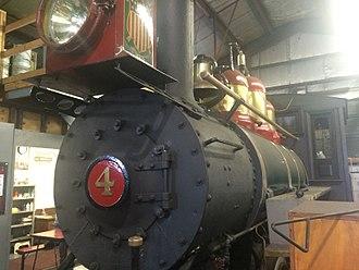 Cedar Point & Lake Erie Railroad - Cedar Point and Lake Erie Rail Road George R. steam locomotive.