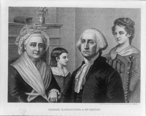 George Washington at Mt. Vernon. George Washin...