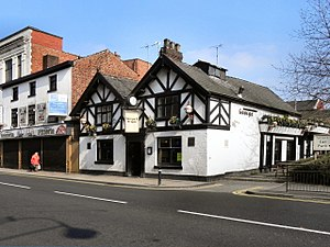Listed buildings in Leigh, Greater Manchester - Image: George and Dragon, Leigh
