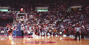Georgetown Hoyas men's basketball - Georgetown playing Princeton in the first round of the 1989 NCAA Tournament