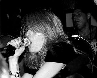 Geraldine Swayne - Geraldine Swayne performing with Faust in Schiphorst, Germany on 5 July 2008.