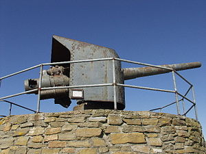 15 cm SK L/45 - Image: German gun from SMS Bremse geograph.org.uk 118942