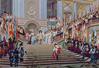 Réception du Grand Condé à Versailles (Gérôme)