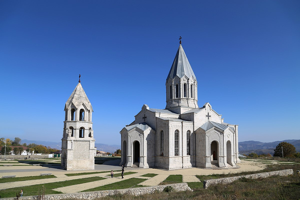 Ghazanchetsots Cathedral - Wikipedia