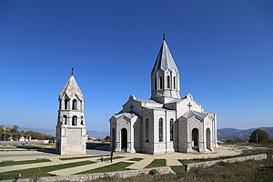Diocese of Artsakh - Ghazanchetsots Cathedral, the seat of the bishop