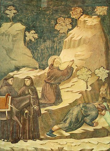 miracle of the crib at greccio The place of the miracle at greccio was consecrated to the lord and became a church above the actual cave or grotto, an altar was placed in honor of saint francis today, greccio is still a popular place of pilgrimage and during the christmas season it is a scene of great devotion.
