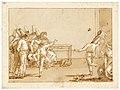 Giovanni domenico tiepolo punchinellos playing battledore and shuttlec.jpg