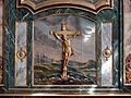 Gisors (27), collégiale St-Gervais-et-St-Protais, 2e collatéral sud du chœur, autel et retable dit des Mathurins 7.jpg