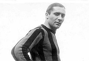 History of Inter Milan - Meazza still holds the record for the most goals scored in a debut season in Serie A, with 31 goals in his first season (1929–30)