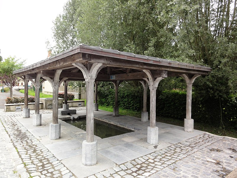 Glageon (Nord, Fr) lavoir
