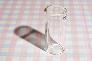 Borosilicate glass - Guitar slide made of borosilicate glass