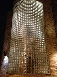 Glass brick wikipedia the free encyclopedia - Glass bricks designs walls ...
