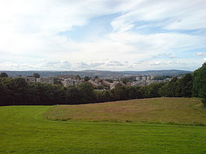 Gleadless Valley (ward) - Herdings looking over the valley towards Hemsworth (Newfield Green and City also in view)