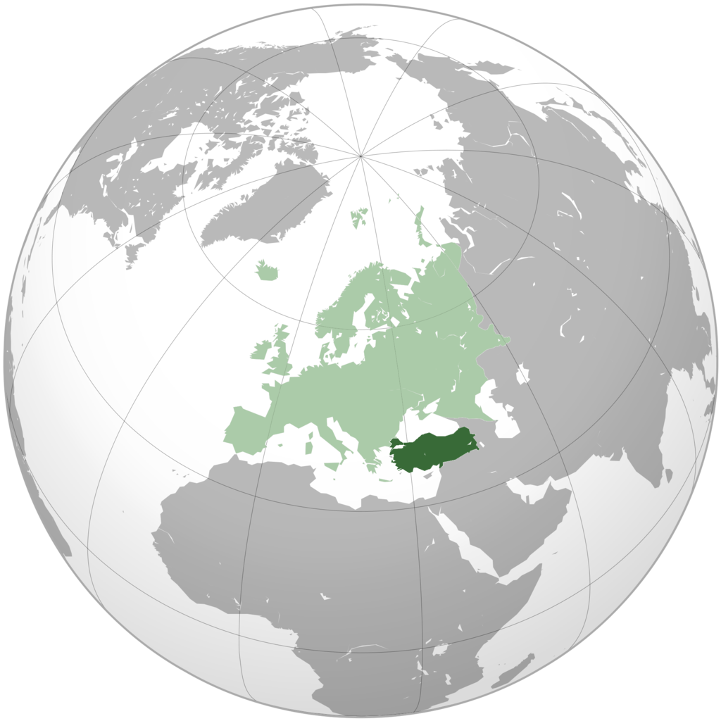 FileGlobal Map of Europe and Turkeypng Wikimedia Commons – Turkey on the Map of Europe