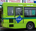 Go North East bus Wallsend Links livery Cobalt partnership Wallsend Newcastle upon Tyne 9 May 2009.jpg