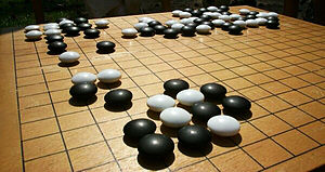 The Japanese game called go