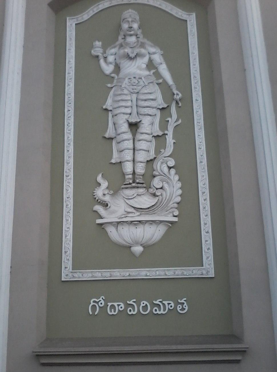 Godavari matha statue
