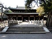 建于北宋的晋祠圣母殿