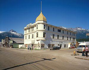 National Register of Historic Places listings in Skagway, Alaska - Image: Golden North Hotel, Skagway, Alaska