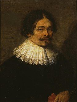 Gonzales Coques - Portrait of a man, identified as a self-portrait of the artist.jpg
