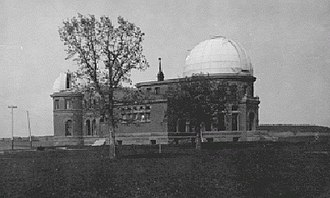 Goodsell Observatory - Goodsell Observatory in 1895