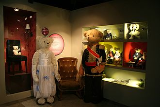 Princess Hours - Princess Hours teddy bears display at the Teddy Bear Museum in N Seoul Tower