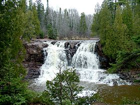 Image illustrative de l'article Parc d'État de Gooseberry Falls