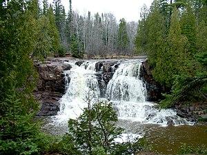 Gooseberry Falls State Park - Upper Gooseberry Falls.