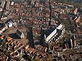 Gouda, vanuit de lucht met stadhuis RM16843 en de Grote of Sint Janskerk RM16722 foto1 2014-03-09 10.40.jpg