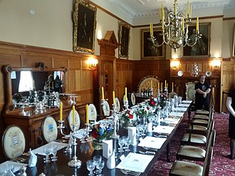 Government House, Wellington - Image: Gov House, NZ dining room