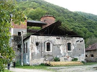 Govăjdia Blast Furnace - Image: Govajdia furnace 3