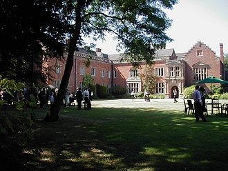 Bromsgrove - Grafton Manor, home of the Catholic Talbot family, holding leading military posts in Worcestershire's Royalist forces in the Civil War