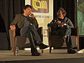 Graham Linehan and Jon Ronson at TAM London 2010.jpg